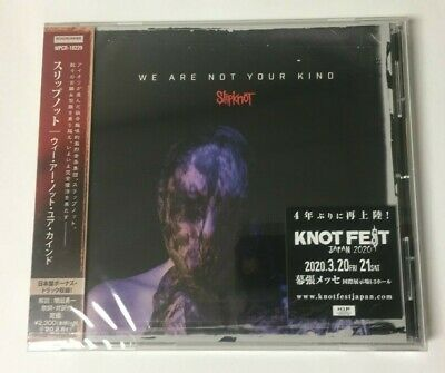 "SLIPKNOT ""WE ARE NOT YOUR KIND"" JAPAN CD +1 Bonus Track *SEALED*"