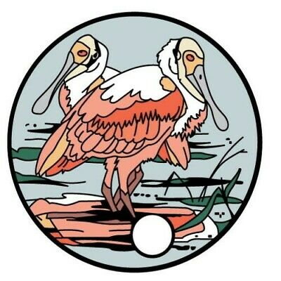 Pathtag 33831 - Exotic Bird Club - Spoonbills - Retired - Expired