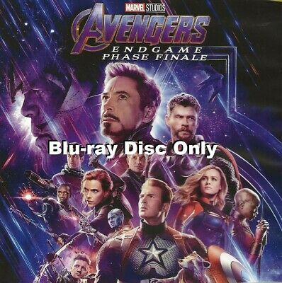 Marvel Avengers Endgame Phase Finale Blu-ray Only   Region A   Disc is Brand New