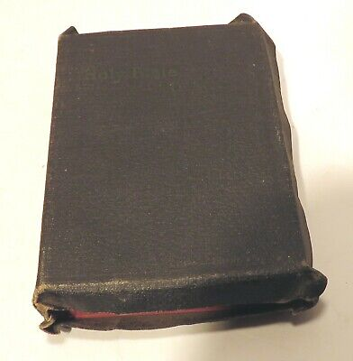 Antique Small Holy Bible 1611 KJV King James Version  World Syndicate Publishing