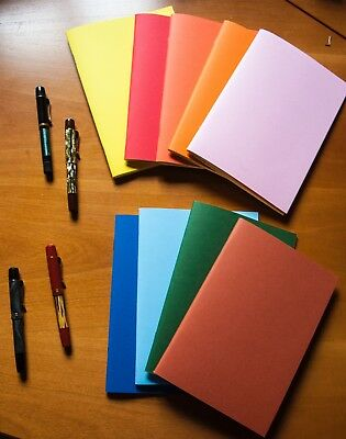 Lot of 9 Tomoe River Notebook - Japanese Fountain Pen Friendly Paper