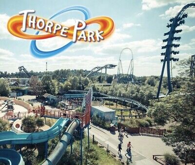 2 X Thorpe Park Tickets for Friday 20th September Free Entry