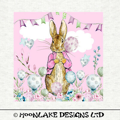 Fabric Cushion Upholstery Craft Quilting Panel Peter Rabbit Forest Palls