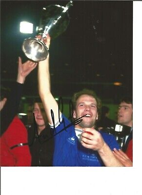 Football Autograph Andy Gray Everton FC Signed 10x8 inch Photograph JM125