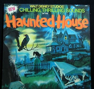 1979 Walt Disneys Sounds of the Haunted House Disneyland 2507 Sound Effects 1979