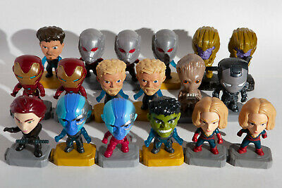 Avengers Endgame McDonalds Happy Meal opened *Pick Your Toy*