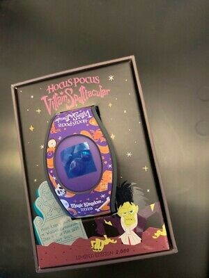 NEW Disney Mickey's Not So Scary Halloween Party 2019 Hocus Pocus LE Magicband