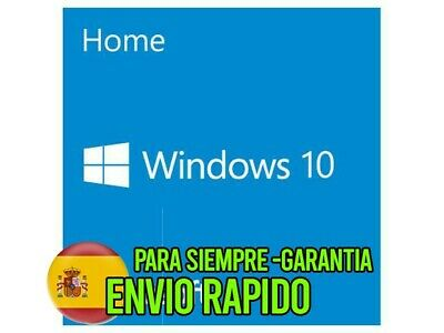 *Garantía* Windows 10 Pro 32/64 Bits Clave Licencia Key 100% Original