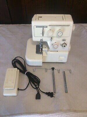 Sears Kenmore 3/4 385 Overlock Differential Feed Serger Sewing Machine Fast Ship