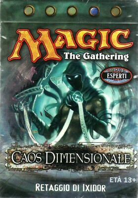 Cards MTG Magic the Gathering Deck Mazzo Caos Dimensionale Retaggio di Ixidor