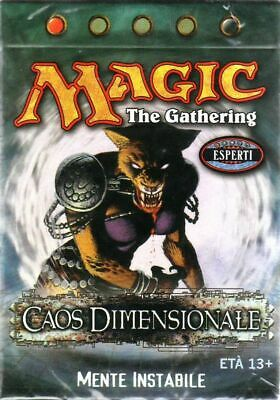 Cards MTG Magic the Gathering Deck Mazzo Caos Dimensionale Mente Instabile