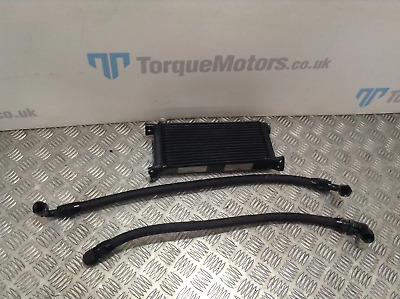 Ford Escort RS Turbo MK4 Universal Mocal oil cooler & pipes DAMAGED