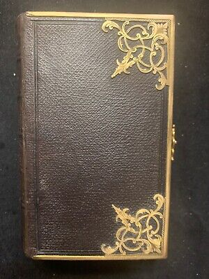 1857 Antique Bible Common Prayer New Testament Eyre And Spottiswoode Brass Clasp