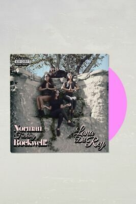 LANA DEL REY- NFR -NORMAN ROCKWELL LIMITED  PINK  2 x  VINYL LP  NEW  20/09/19