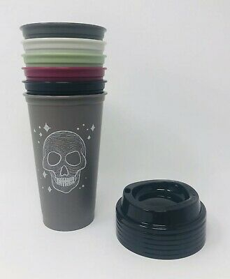 Starbucks 2019 Fall Halloween Reusable Hot Cups Limited Edition. In Hand!