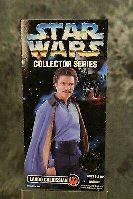 Kenner 1996 Star Wars Collector Series 12 inch Lando Calrissian w/FREE SHIPPING