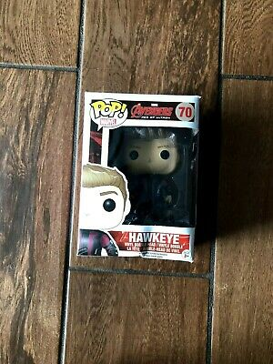 Funko Pop! Marvel - (#70) Hawkeye (Avengers 2) *Damaged Box*