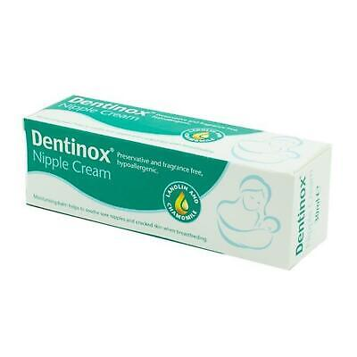 Dentinox Nipple Cream 30ml - help soothe and protect sore, cracked nipples