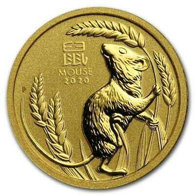 Gold Coin Australia Lunar II - Year of the Pig 2019 - 1/10 oz 99.99 % pure gold