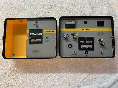 Vivax Metrotech Vm-480B Pipe & Cable Locator - Receiver & Transmitter - Used