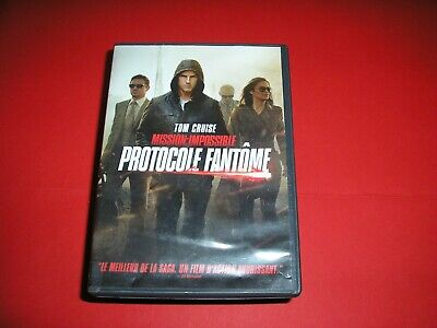 "DVD,""MISSION IMPOSSIBLE,PROTOCOLE FANTOME"",tom cruise,etc,(2515)"