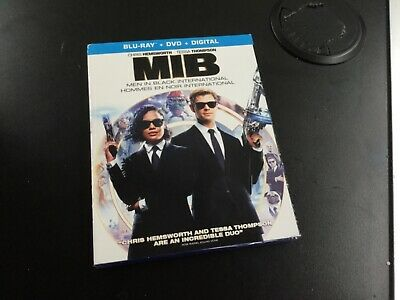 Mib Men In Black International    ( Blu-Ray +Dvd +  Digital  ) Brand New Sealed