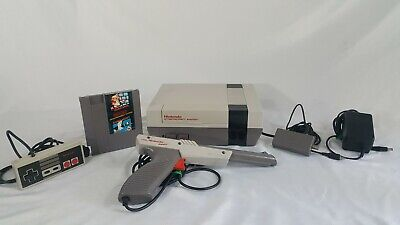 Nintendo Entertainment System NES Console Bundle Tested Working Super Mario Bros