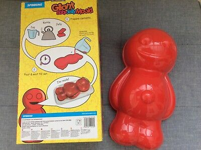 Giant Novelty Jellybaby Baby Jelly Mould Perfect for Halloween