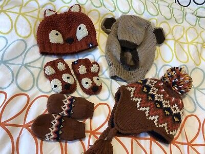 Joules Fox Hat & Gloves Plus Other Hats & Gloves