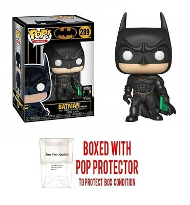 Funko Pop! Heroes: Batman 80th - Batman (1995) Vinyl Figure w/ protector case
