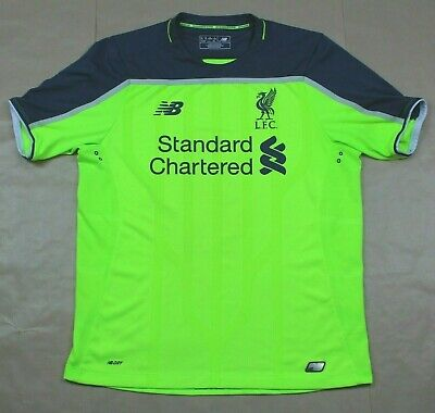 Liverpool 2016 2017 3RD Away Shirt Original Authentic EXCELLENT Condition (M)