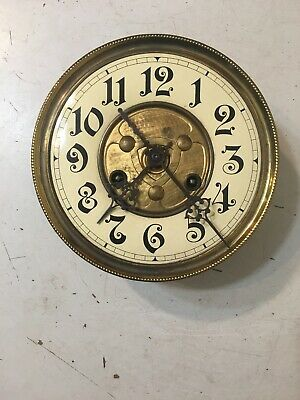 Antique German Freeswinger Wall Clock Movement Dial & Hands FMS Mauthe