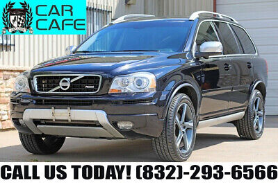 2013 Volvo XC90 platinum 13 VOLVO XC-90 3.2L PLATIUMN R-DESIGN 1 OWNER NAV MROOF 3RD ROW ACCIDENT FREE