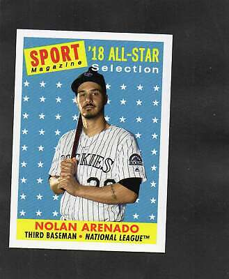 2019 Topps Archives High Number 1958 Sports Magazine All-Star Nolan Arenado #307