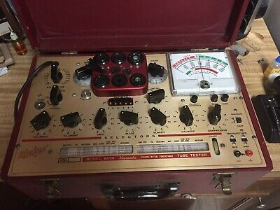 Hickok 6000 Mutual Conductance Vacuum Tube Tester