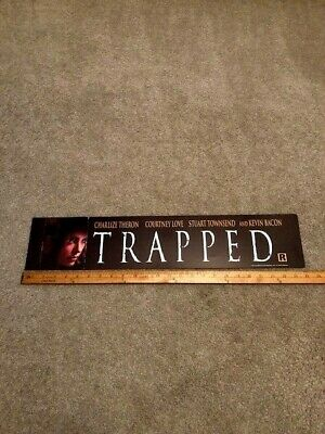 2002 Trapped 5x25 Large Movie Theater Mylar Double-sided