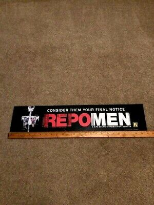 2010 RepoMen 5x25 Large Movie Theater Mylar Double-sided