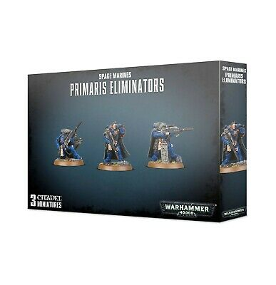 Space Marines Primaris Eliminators Warhammer 40k Pre-Order Ships FREE 9/21!