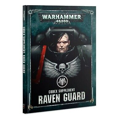Codex: Raven Guard Hardcover Book Warhammer 40k Pre-Order Ships FREE 9/21!