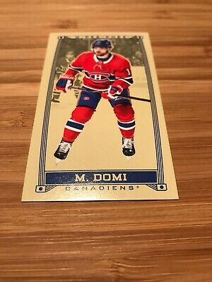 2019-20 O Pee Chee OPC Mini Caramel Max Domi C-23 Montreal Canadians