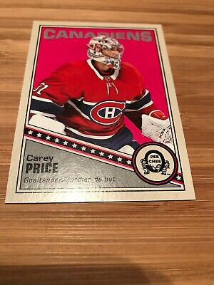 2019-20 O Pee Chee OPC Retro Green Back Carey Price #251 Montreal Canadians