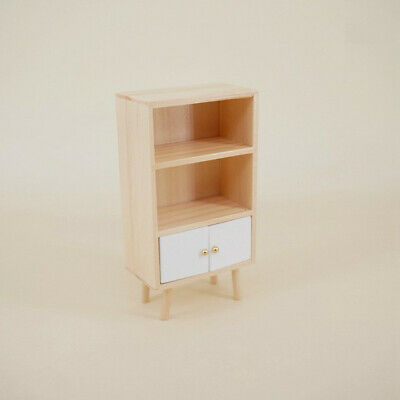 1/12 Dollhouse Miniature Furniture/Modern Style Wooden Cabinet