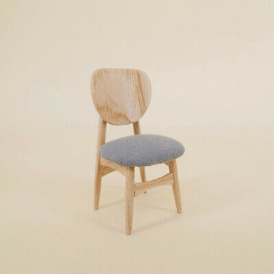 1/12 Dollhouse Miniature Furniture/High Quality Wooden Chair
