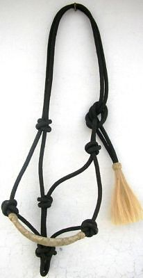 Nylon Cowboy Rope Halter Horse Tack Equine in PINK HP117