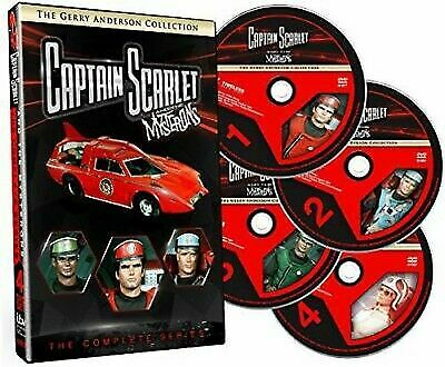 Captain Scarlet & Mysterons The Complete Series (5 DVD Set) Gerry Anderson