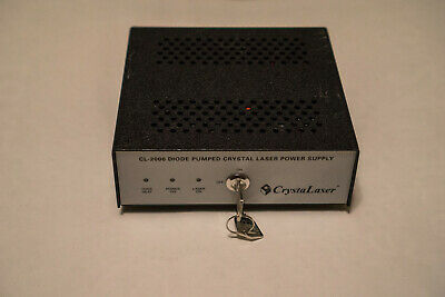 CrystaLaser Diode Pumped Crystal Laser Power Supply CL-2000 (IRCL-100-1064L)