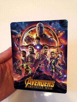 AVENGERS: Infinity War Magnet cover for Steelbook (NO LENTICULAR)