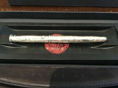 Yard-O-Led Limited Edition Imperial Dragon Sterling Silver Fountain Pen