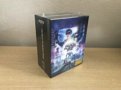 Ready Player One (4K UHD+3D+2D-Steelbook) - Hdzeta Gold Label - One Click