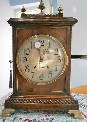 Peerless/Lenzkirch Ting Tang Oak Bracket Clock in G.W.O.